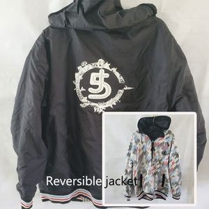 5IVE JUNGLE & CO Jacket Mens 2XL  Zip Up Logo Desi